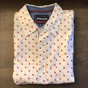 Aeropostale Casual Button Down Shirt